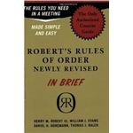 Roberts Rules of Orders Courtesy Amazon