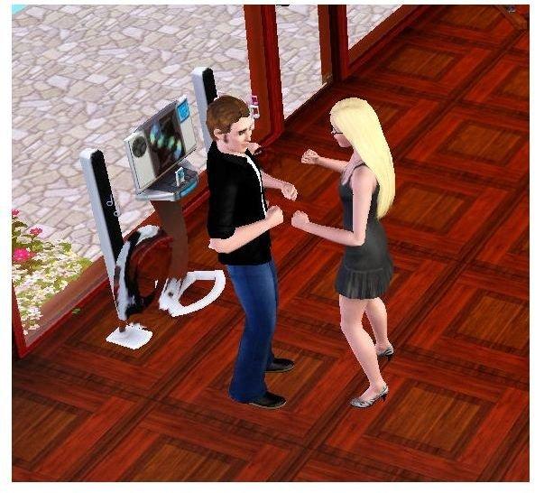 sims 3 music dancing