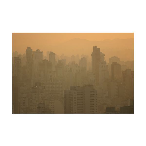 Photochemical Smog over Sao Paulo
