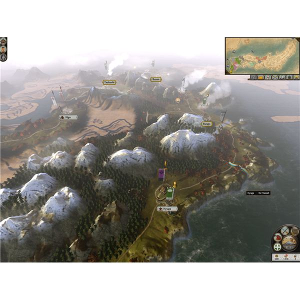 The map screen.