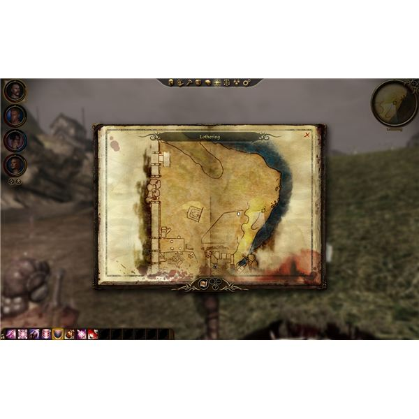 Dragon Age: Origins - Map of Lothering