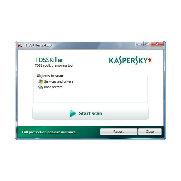 TDSSKiller by Kaspersky Removes Google pop up virus