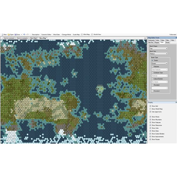 Civilization 5 Map Making Tutorial on