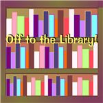 Pick up and drop off your books in style with this library canvas bag template