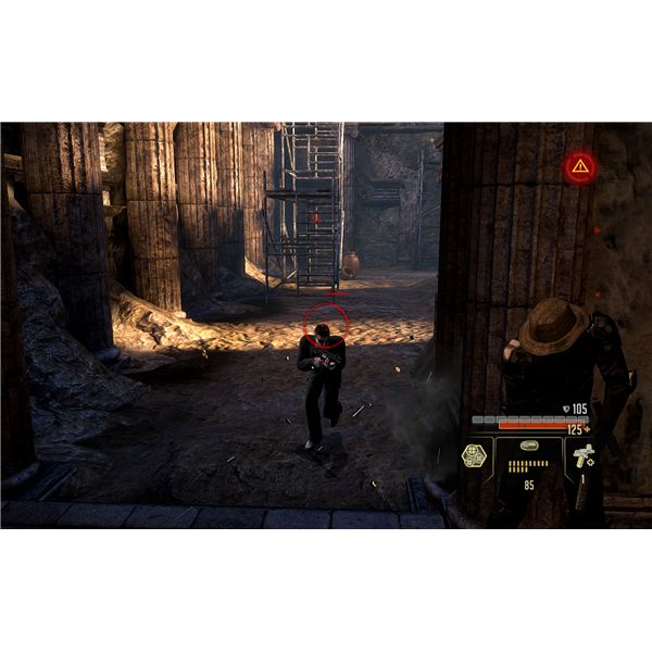 Alpha Protocol Walkthrough - Holding Off the Attack in the Ruins at the Satellite Relay