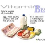 Foods to prevent signs of B12 deficiency.