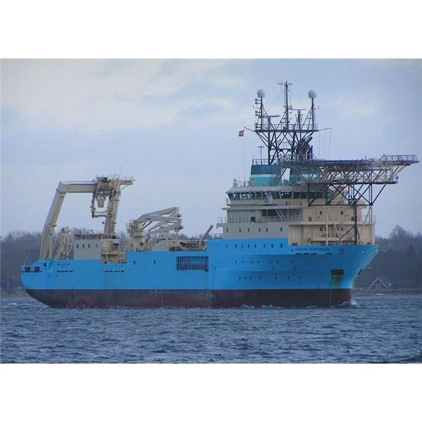Maersk Responder Cable Laying Ship