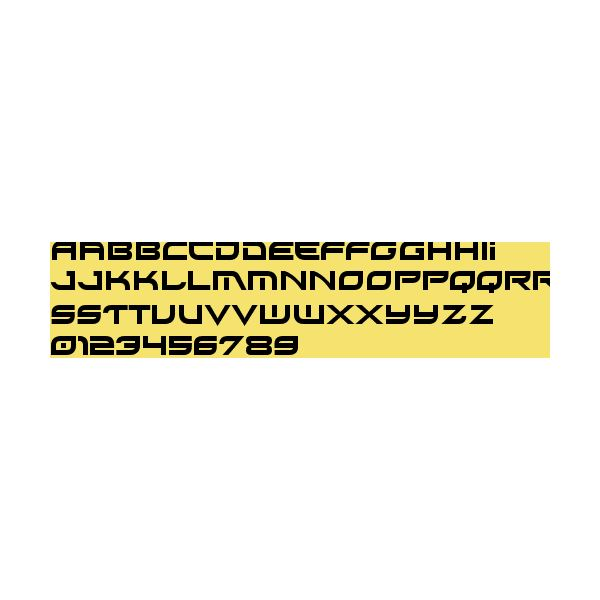 Xirod Font Preview