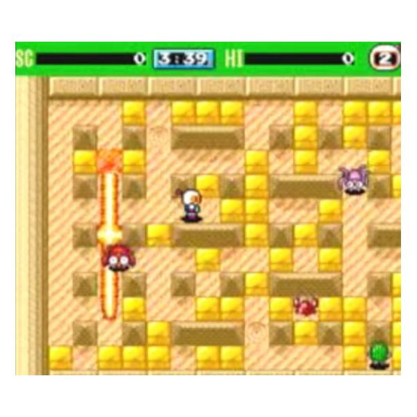 The Single-player Mode in Bomberman '93 is Dull and Repetitive
