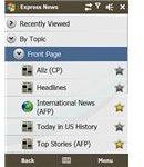 Express News screenshot