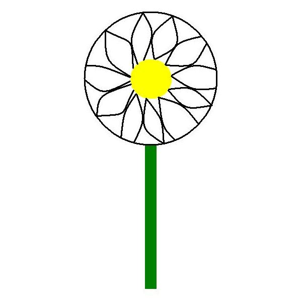 Paper Plate Daisy