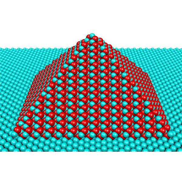 A Quantum Dot Pyramid Portray