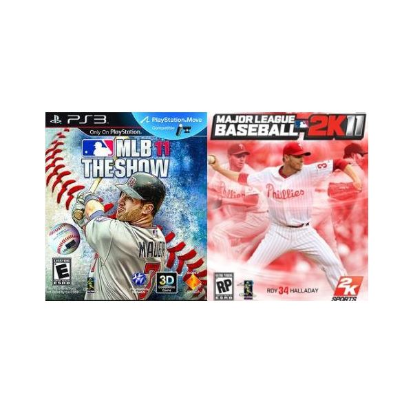 MLB 11: The Show vs. MLB 2K11