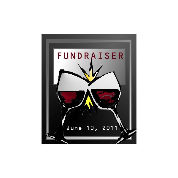 Use this homemade wine label for a gala fundraiser in your next event