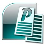 Microsoft Publisher. That pretty icon ain't gonna help you.