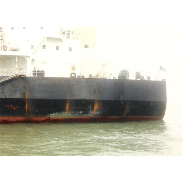 Corossion on Ship Side