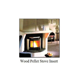 wood pellet stove insert