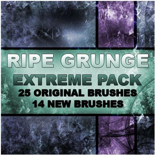 Ripe Grunge Extreme Brush Pack