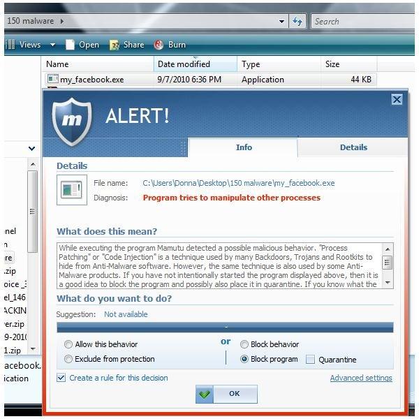IRC Bot Blocked by EmsiSoft