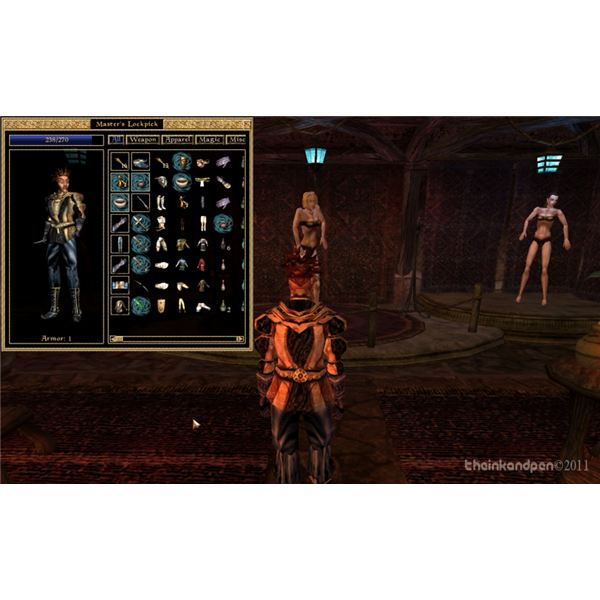 The Elder Scrolls 3: Inventory in Suran