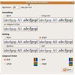 Ubuntu Font Rendering Details