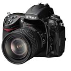 Nikon D700 Digital SLR Camera (Lens Attached)