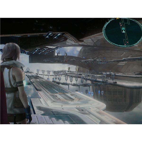Final Fantasy XIII: External Berths.