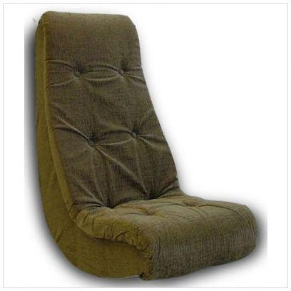 ... Video Rocker Fabric Chair