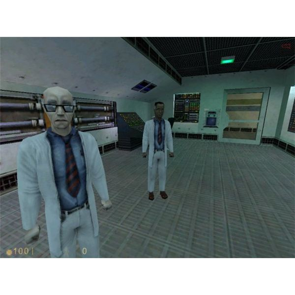 Half Life's older 3D graphics shouldn't be a problem for a netbook