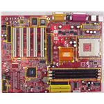ATX motherboard - labeled