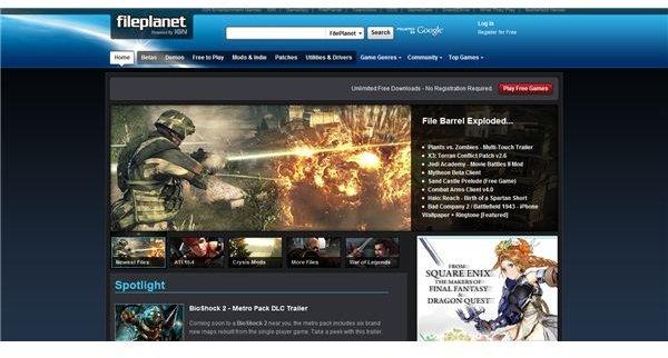fileplanet screenshot