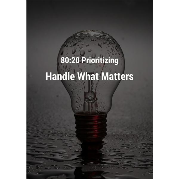 Handle What Matters