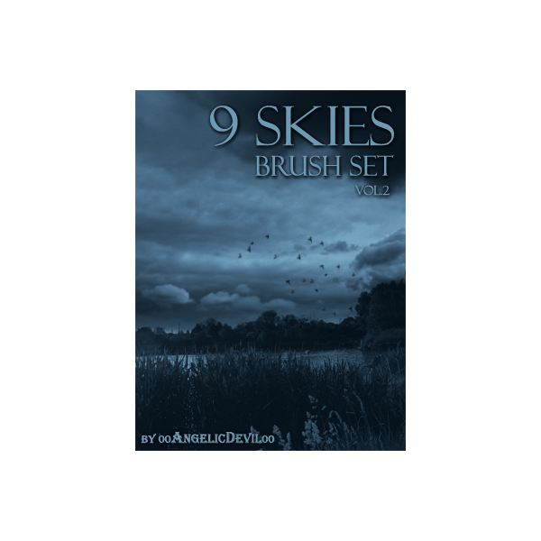 9 Skies brush set vol 2 by 00AngelicDevil00