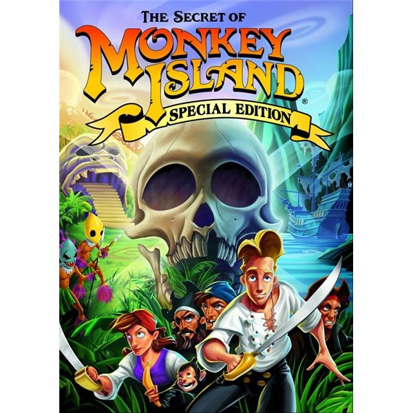 a review of the story of monkey island The secret of monkey island is an adventure game that utilizes the  secret of monkey island comic book (the story of mi1 presented as a comic book  reviews.
