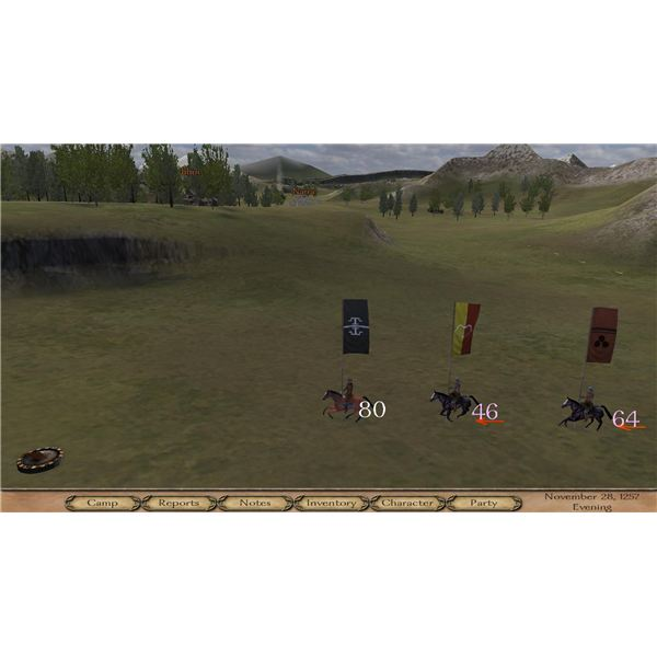 Mount and Blade Warband Map