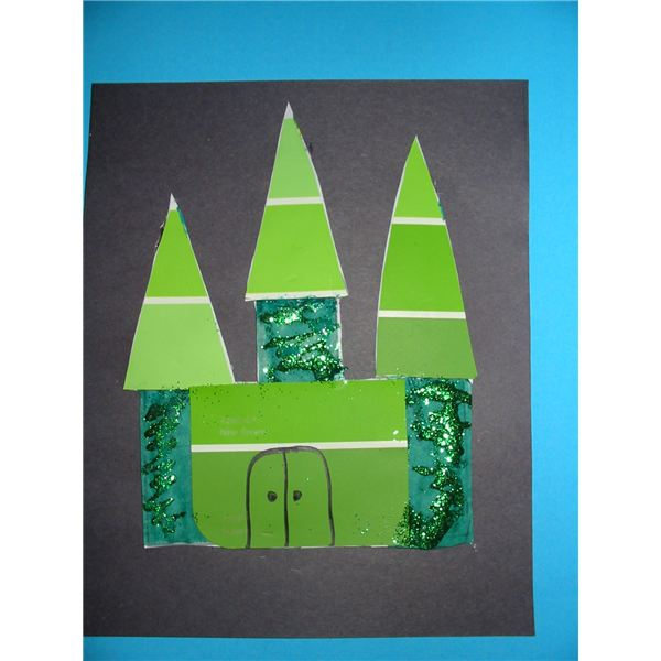 Emerald City Preschool Craft