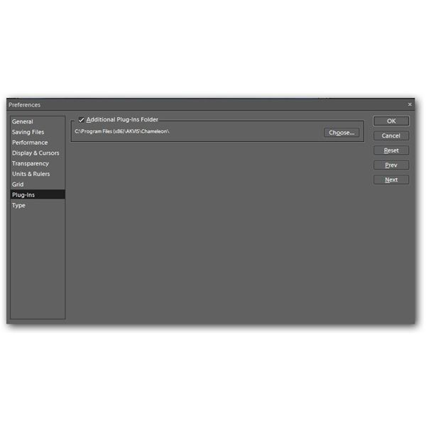 Preferences Dialog Box in Photoshop Elements