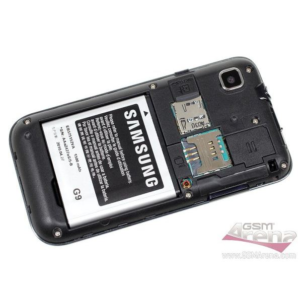 samsung galaxy s battery via GSMarena