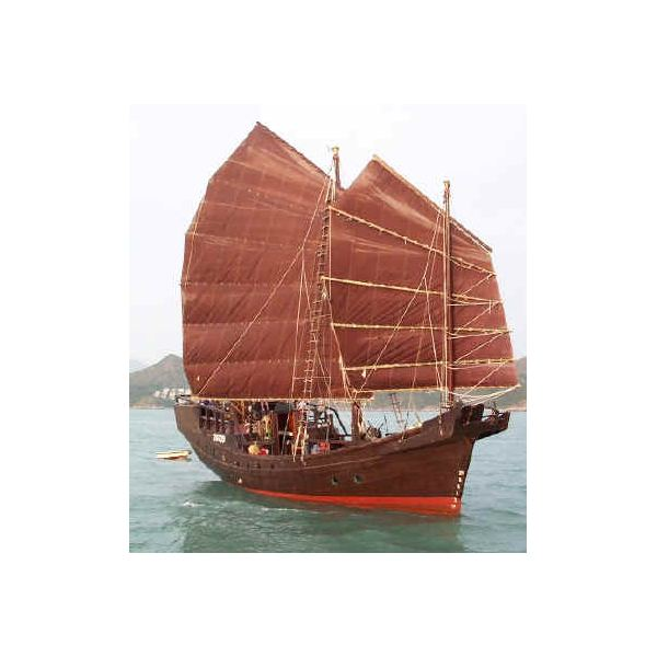 Chinese Junk Sail Boat Explained