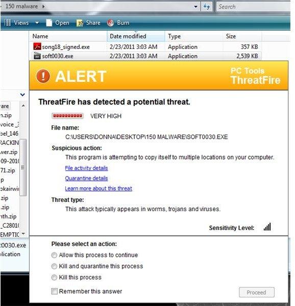 Threat Blocks Trojan
