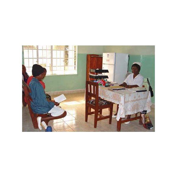 Nurse at Koidu Hospital Sierra Leone