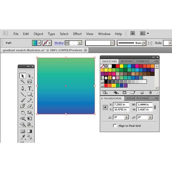 Copying Gradients from InDesign to Illustrator