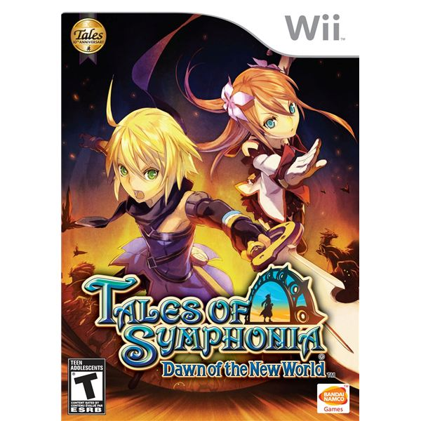 Tales of Symphonia Dawn of the New World Box Art