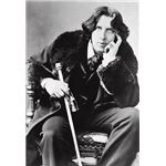 Oscar Wilde in his favorite coat