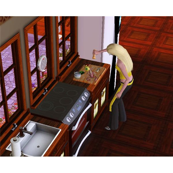 Sims 3 Cooking