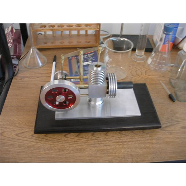Stirling Engine Model - Side