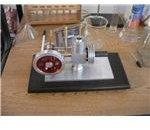 Stirling Engine Model - Side