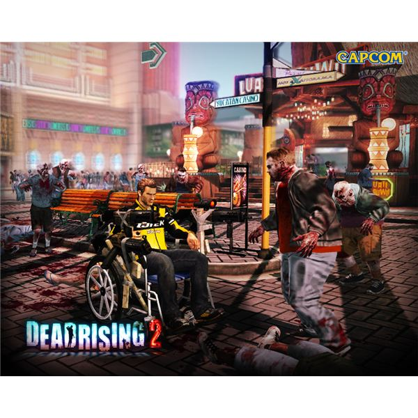 The 'Blitzkrieg' combo weapon in Dead Rising 2.