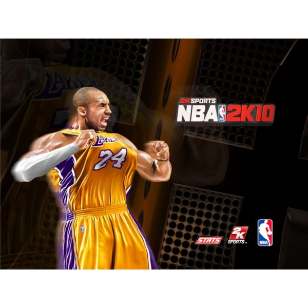 NBA 2K10 Intro Screen