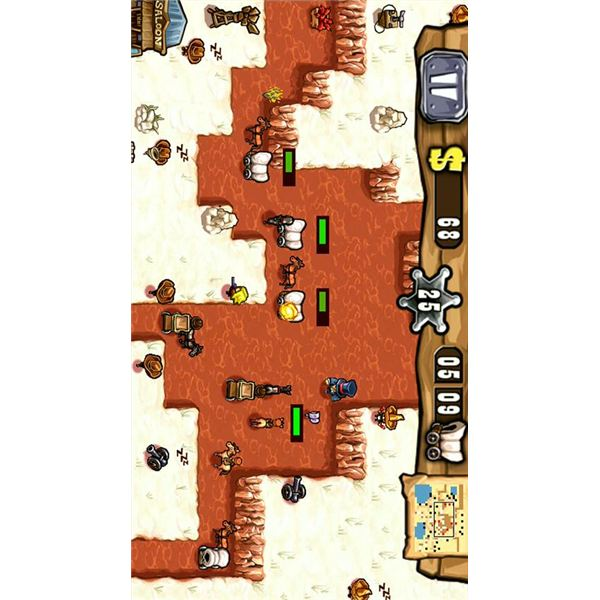 Best Android Tower Defense Games - Guns n Glory